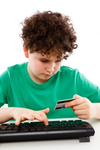 Kids and credit cards -- and chainsaws